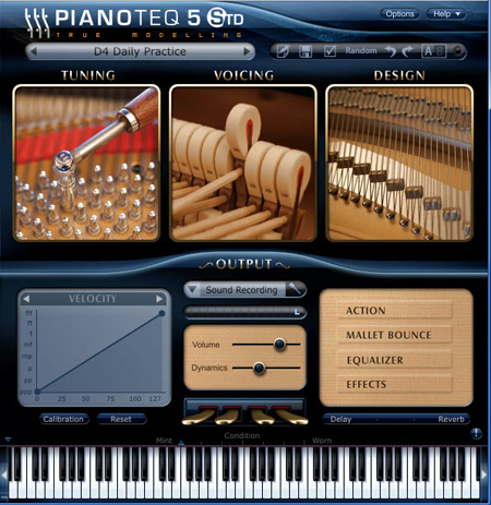 Pianoteq Virtual Instruments