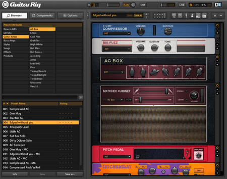 Guitar Rig 5 Virtual Instrument