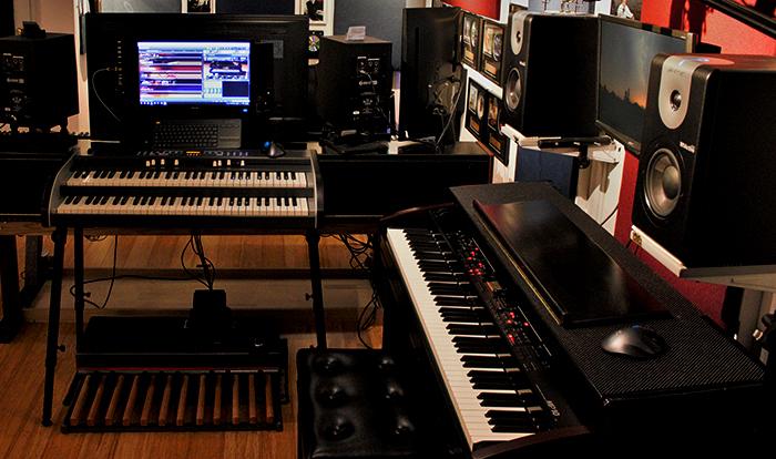 keyboard workstation sound design music studio. Black Bedroom Furniture Sets. Home Design Ideas