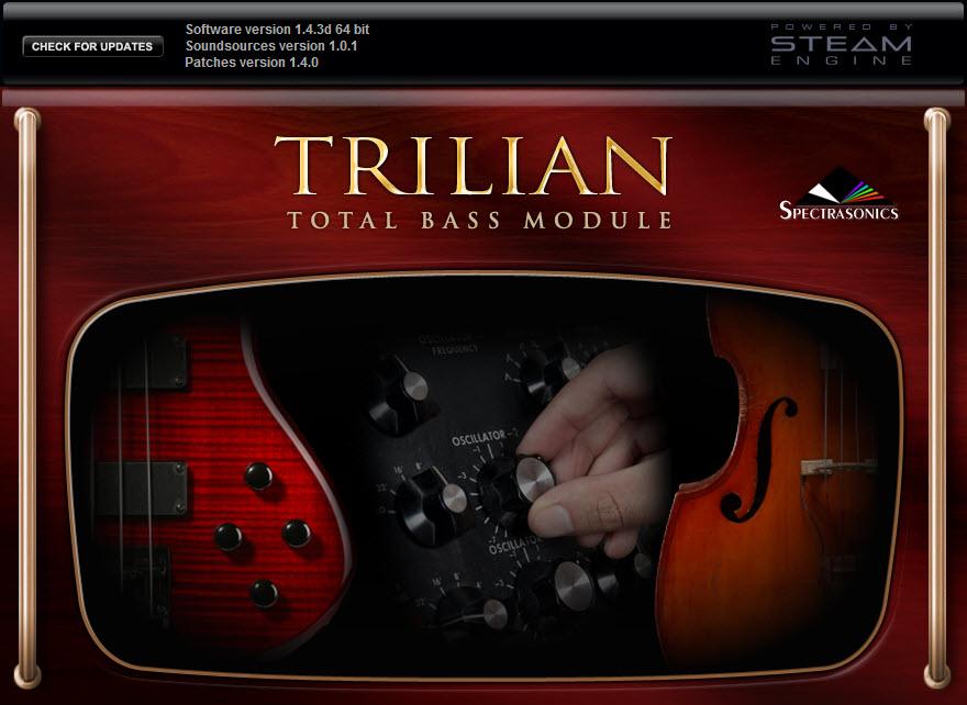 Trilian bass module