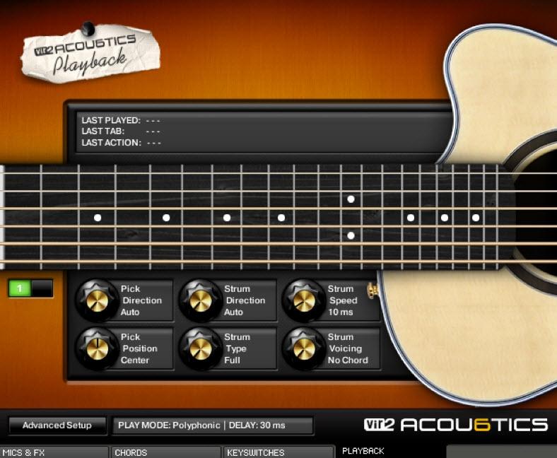 guitar - acoustics